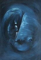 Hlubina, 1992, 102 x 71 cm, olej na kartonu / v soukromé sbírce / 10