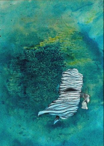 Vzpomínky, 2009, 42 x 34 cm, olej na kartonu / v soukromé sbírce / č. 133