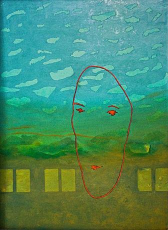 """""""Tvář"""", 20. století, neznámé parametry / neznámý majitel / č. 163"""