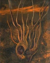Polibek, 2013, 34 x 30 cm, olej na kartonu / v soukromé sbírce / č. 16