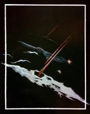 """""""Průlet"""", 80. léta, neznámé parametry / neznámý majitel / č. 182"""