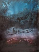 Vodnář v Blížencích, 1991, 49 x 65 cm, olej na kartonu / v soukromé sbírce / č. 205