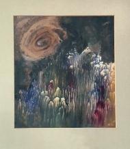 Kyklop, 2000, 21 x 18 cm, decalk / v soukromé sbírce / č. 212