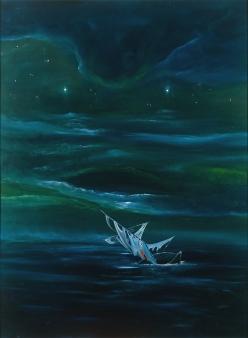"""""""Konec cesty"""", 1992, neznámé parametry / neznámý majitel / č. 233"""