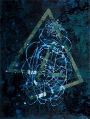Bermuda Triangle, 2013, 69 x 52 cm, olej na sololitu / v soukromé sbírce / č. 2