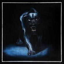 Puma, 2009, 39 x 38 cm, olej na dřevě / v soukromé sbírce / č. 32