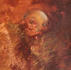 Šmírák (2), 2010, 19 x 19 cm, olej na kartonu / k prodeji / č. 46