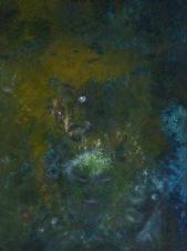 Duše v očistci, 2012, 49 x 35 cm, olej na kartonu / k prodeji / č. 49