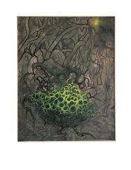 Zpět ke kořenům, 2010, 55 x 45 cm, olej na kartonu / k prodeji / č. 59