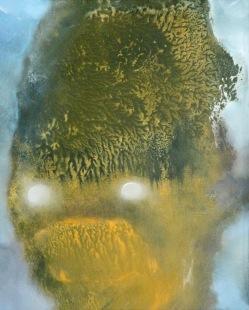 Bubák, 2012, 23 x 19 cm, olej na papíře / k prodeji / č. 71