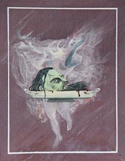 Salome, 1983, 31 x 25 cm, olej na dřevě / k prodeji / č. 74