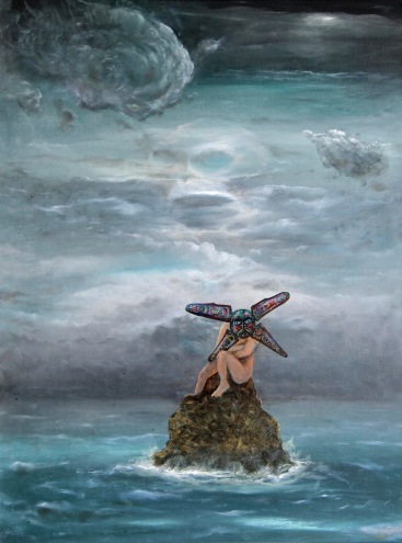 Lazar, 2009, 70 x 53 cm, olej na kartonu / k prodeji / č. 81