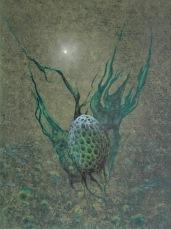 Rozervanec, 2007, 69 x 53 cm, olej na kartonu / v soukromé sbírce / č. 85