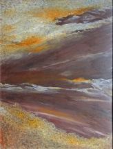 Nebeský drak, 2009, 69 x 53 cm, olej na kartonu / v soukromé sbírce / č. 91