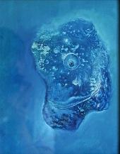 Úsměv, 2012, 40 x 34 cm, olej na kartonu / k prodeji / č. 92