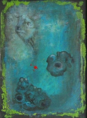 Jatka, 2008, 44 x 34 cm, olej na kartonu / k prodeji / č. 93