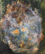 Dobře uleželý utopenec, 1994, 44 x 37 cm, olej na papíře / k prodeji / č. 261